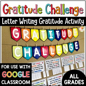 Gratitude Challenge Activities for Kids PREVIEW