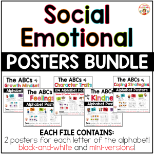 Social-Emotional Posters