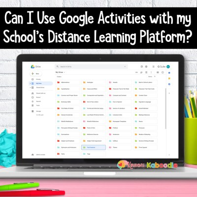 Can I Use Google Activities with my School's Distance Learning Platform?