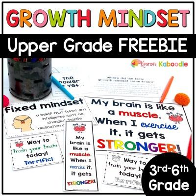 growth-mindset-upper-grade-free