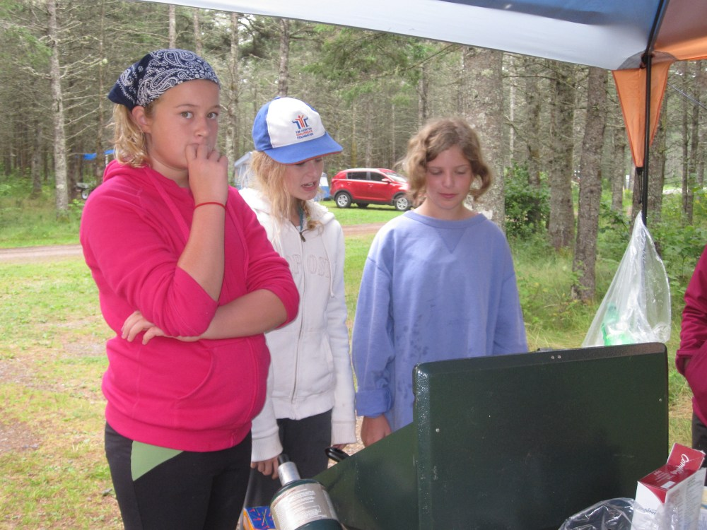 Camping Lady Baden Powell Style (4/6)