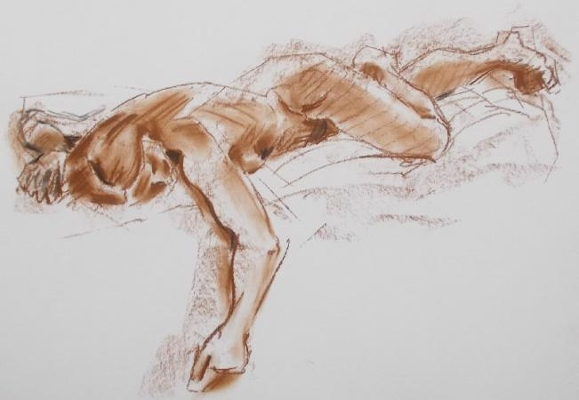 Life Drawing with Kirstin White