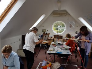 Watercolour Painting at The Studio & Gallery, Dummer.jpg