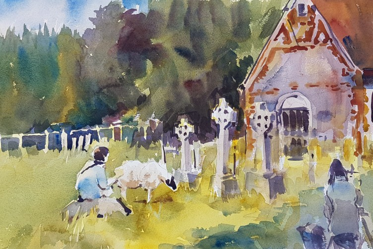 painting group in Preston Candover