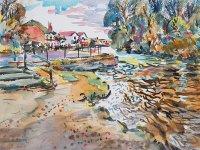 The River Itchen at Bishopstoke - Kirstin White
