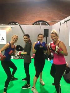 Muaythai Workshop fit living uk