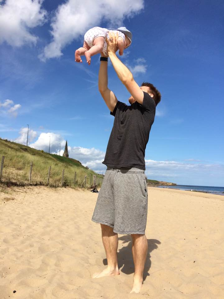 Instablog postnatal depression in men /dads