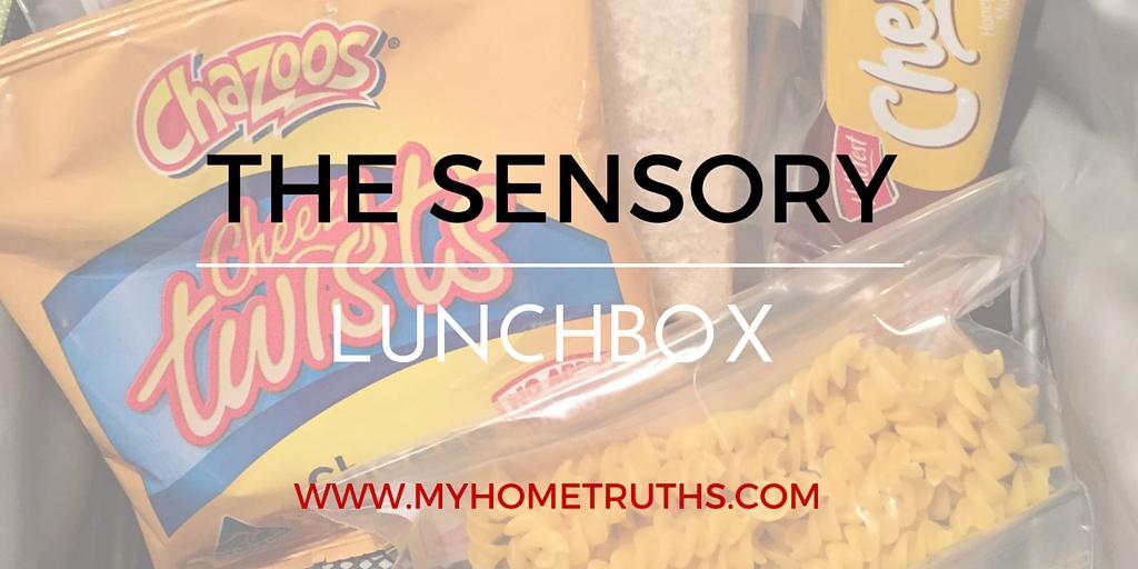 The sensory lunchbox - www.myhometruths.com