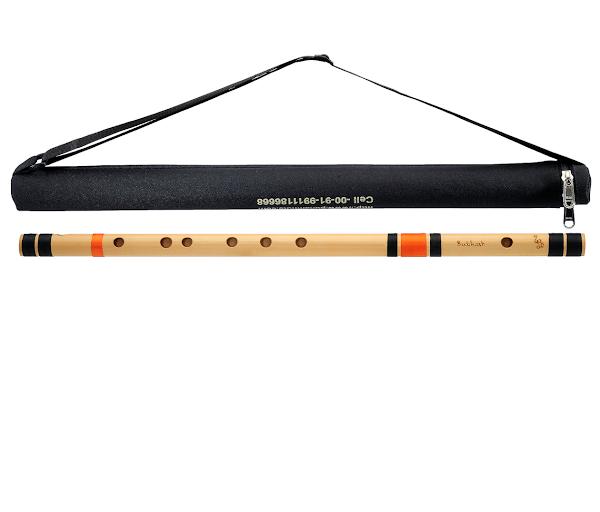 Professional Bansuri Flute – A | 23.5 Inches – 60 Cm | Right Hand