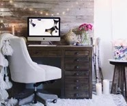 Cozy work space