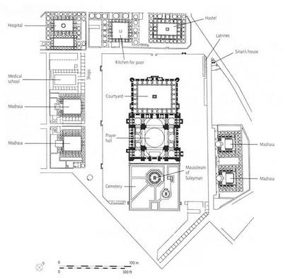 Keterangan bangunan komplek Masjid Sulaiman