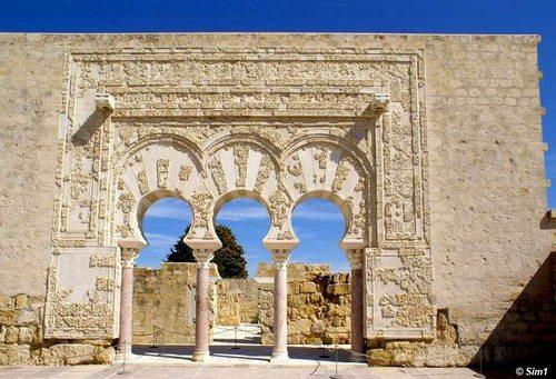Madinah az-Zahra, kota kuno yang dibangun Abdurrahman an-Nashir di Cordoba.