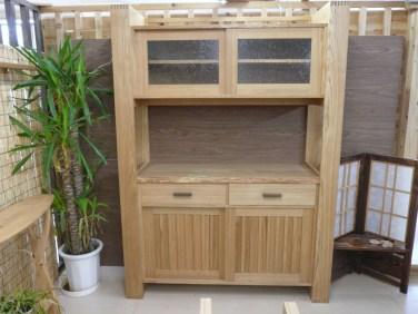 タモ食器棚