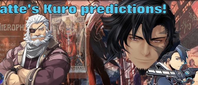 Barkhorning up the wrong tree- Latte's Kuro predictions