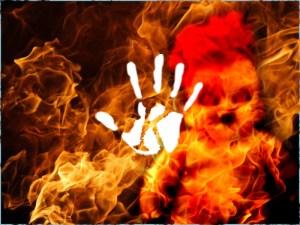 Halott kisfiú lángoló szelleme jelent meg a szülinapi partin