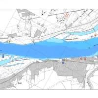 Duna mohácsi szakasz - Folyamtérkép