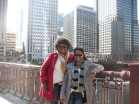 Vickie and I Chicago