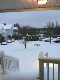 snow saga continues