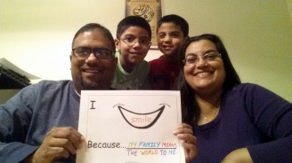 Day 6 The Khan Family #TheSmileProject