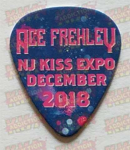 Ace Frehley Guitar Pick 2018 NJ Expo