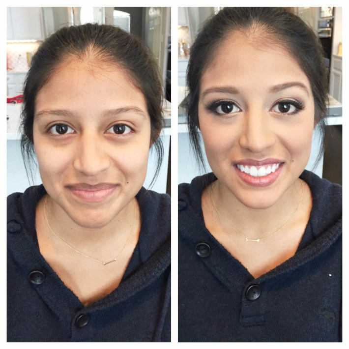 kiss and makeup before and afters: why airbrush makeup is better.