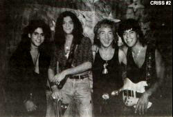 Peter Criss ca 1991-92 med Phillip Anthony.