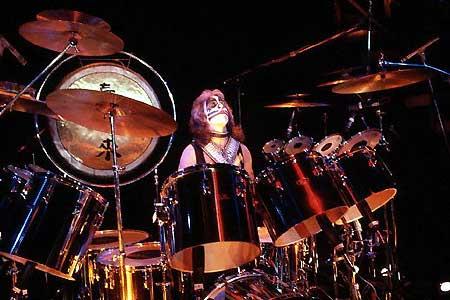 Peter Criss live 1977