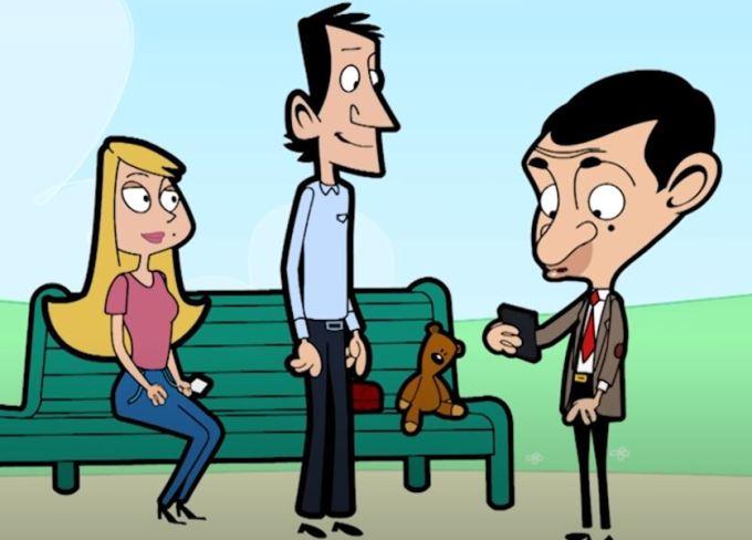 LONDON Bean by Mr Bean official Cartoon - KissCartoon