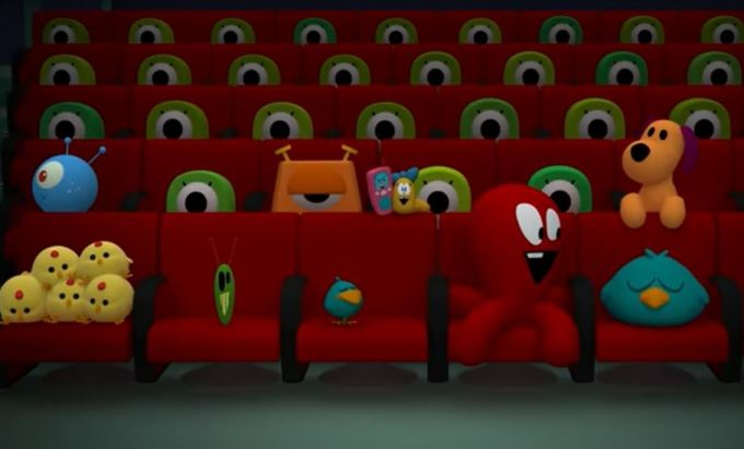 Pocoyo and The League of Extraordinary Super Friends | Cartoon movies for Kids