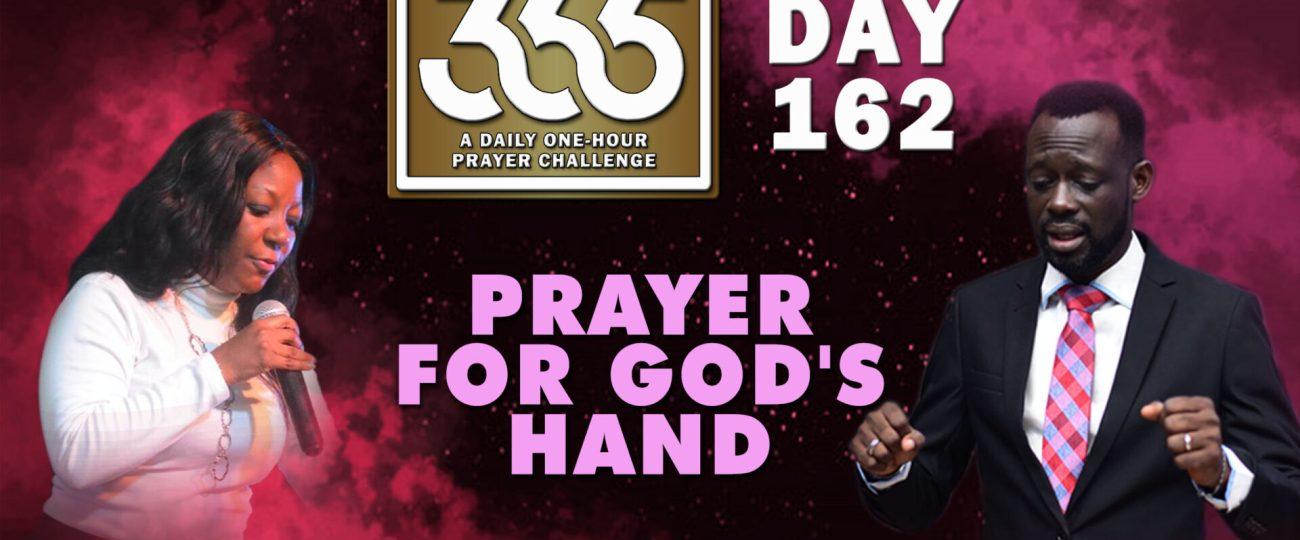 God's Hands – MFC 365 Challenge – Day 162