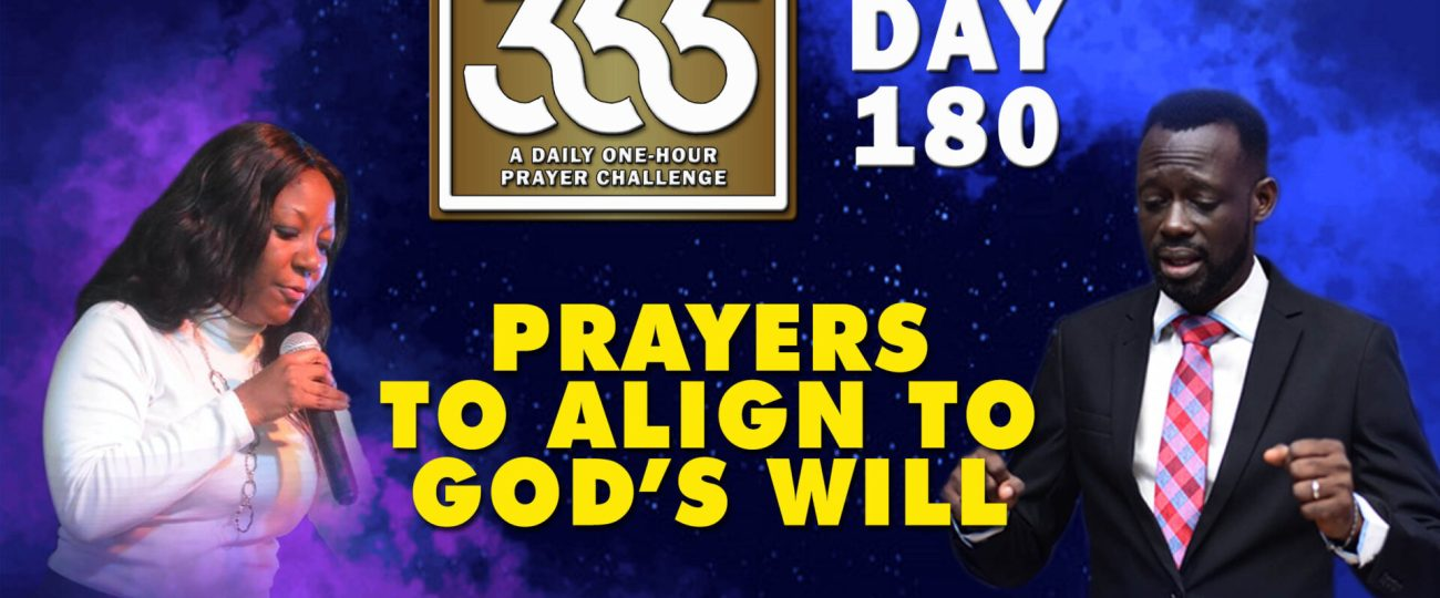 God's Will – MFC 365 Challenge – Day 180