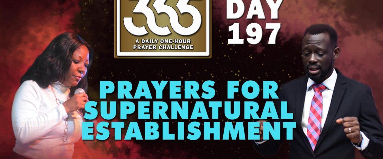 Supernatural Establishment – MFC 365 – Day 197