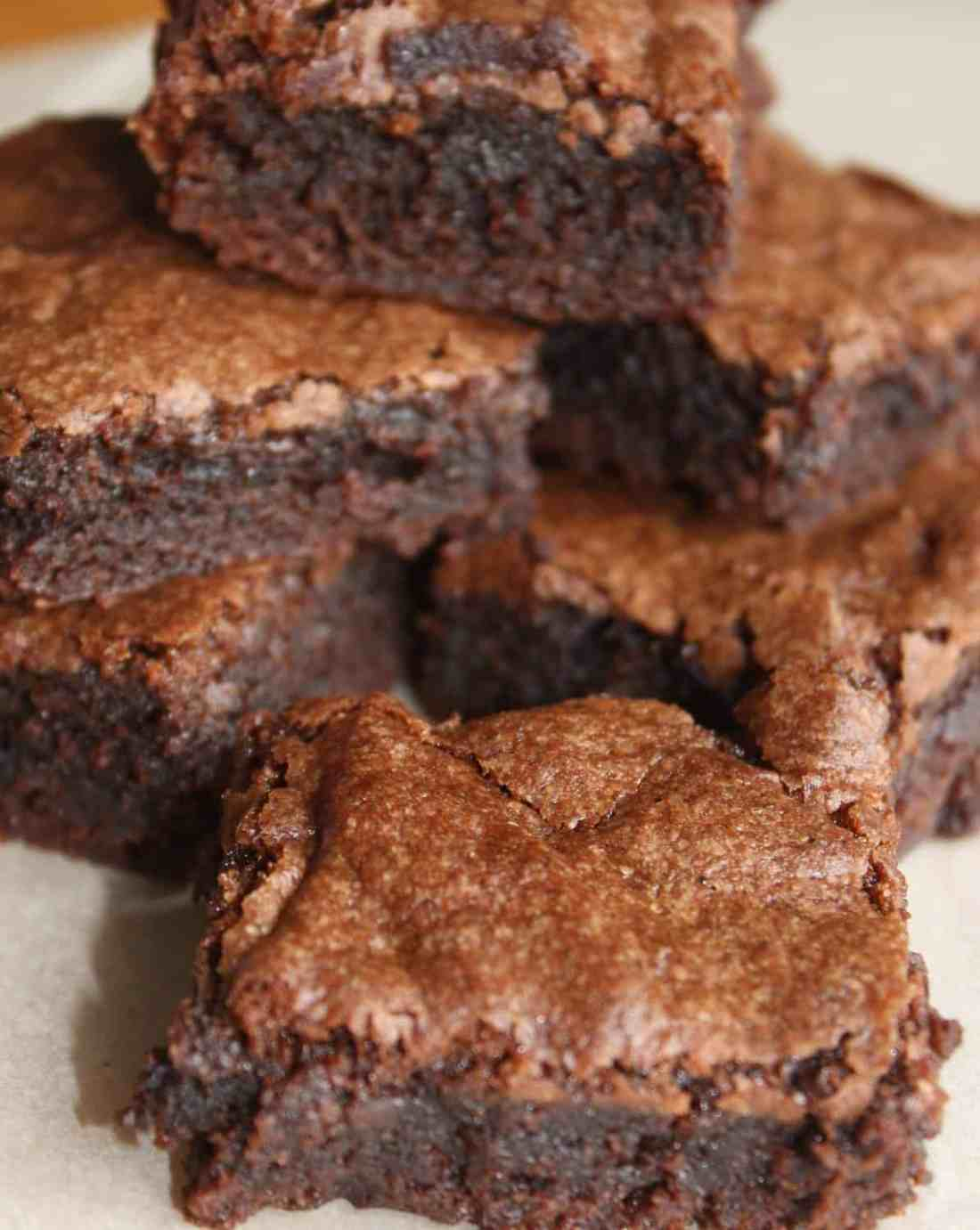 These chewy chocolate brownies are a decadent treat if you have been avoiding desserts due to a gluten intolerance.
