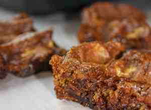 Pumpkin Spice Cookie Bars are an easy and delicious gluten free dessert that is a perfect addition for fall gatherings.