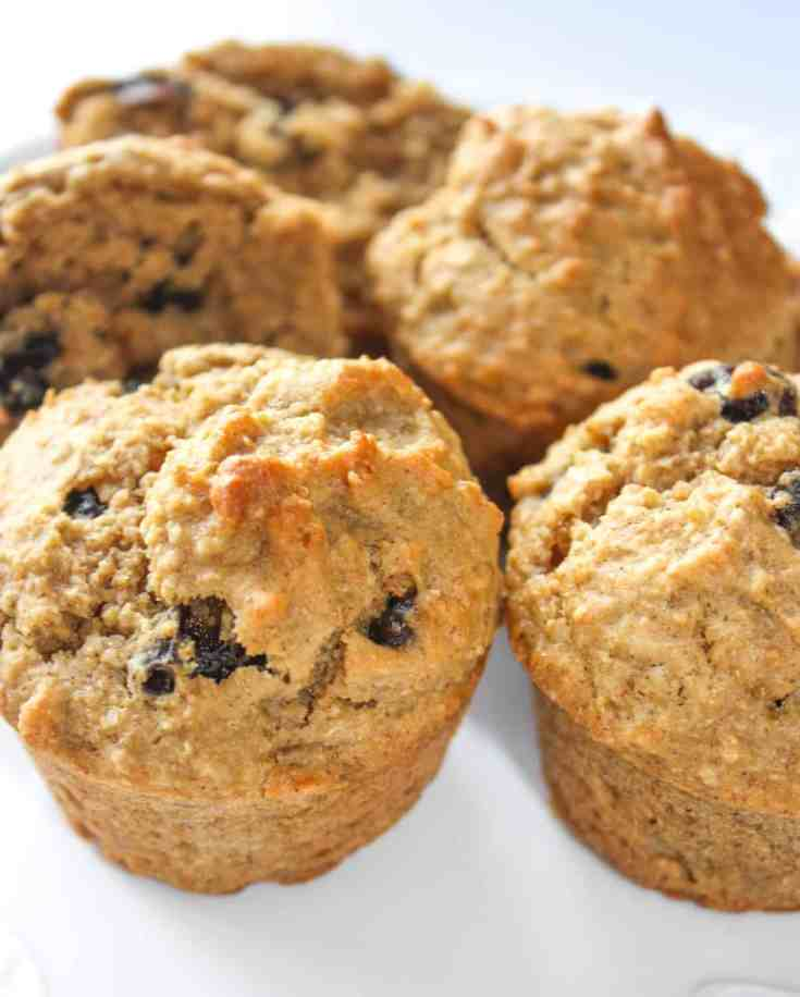 Raisin Oat Bran Muffins are a tasty way to add fibre to your diet. Finding gluten free oat bran means bran muffins are back even for the gluten intolerant!
