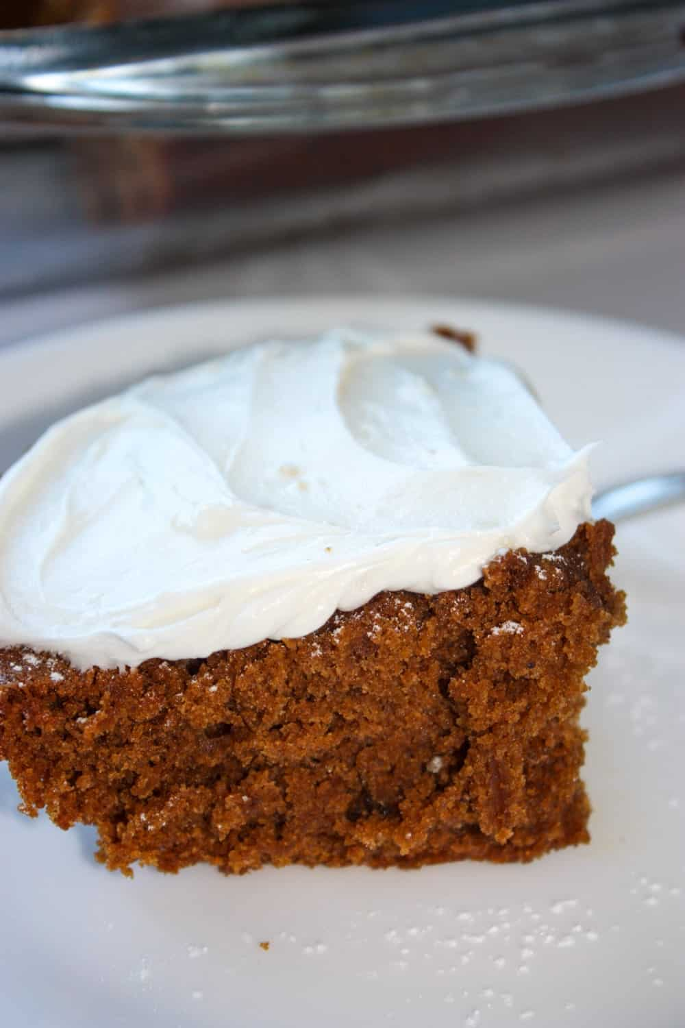 This gluten free Gingerbread Cake will be the beginning of a new tradition at holiday meals!  I was so impressed with this moist, richly flavoured cake.