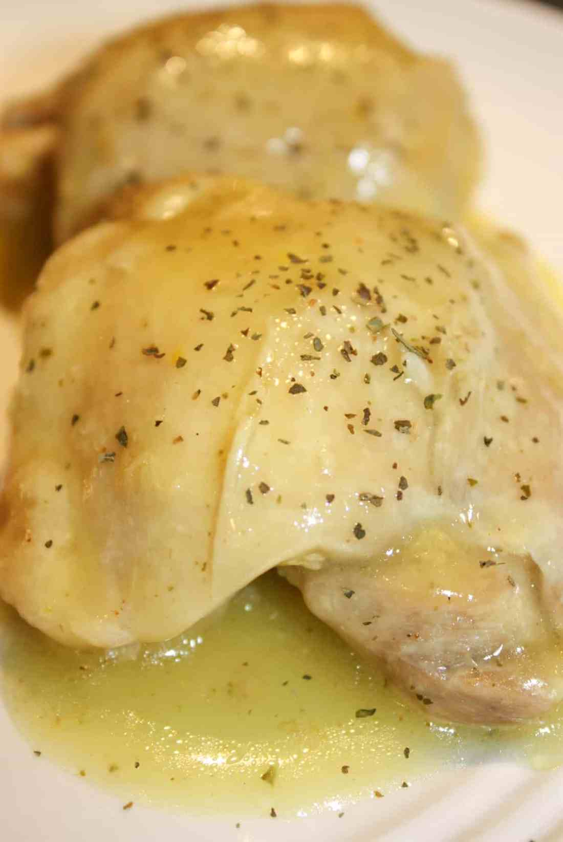 Instant Pot Lemon Chicken is a great way to prepare chicken thighs. The tastiest part of this quick and easy recipe is the tangy lemon sauce that is poured over the chicken after it is cooked.