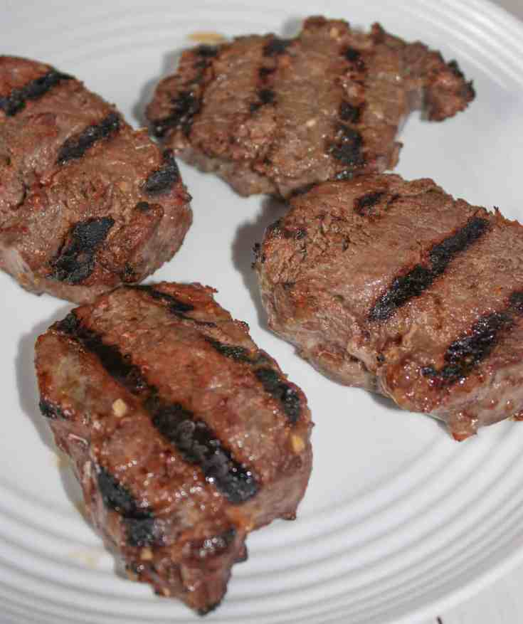 Enjoy these tender, juicy Grilled Venison Loin Chops with your favourite sides.