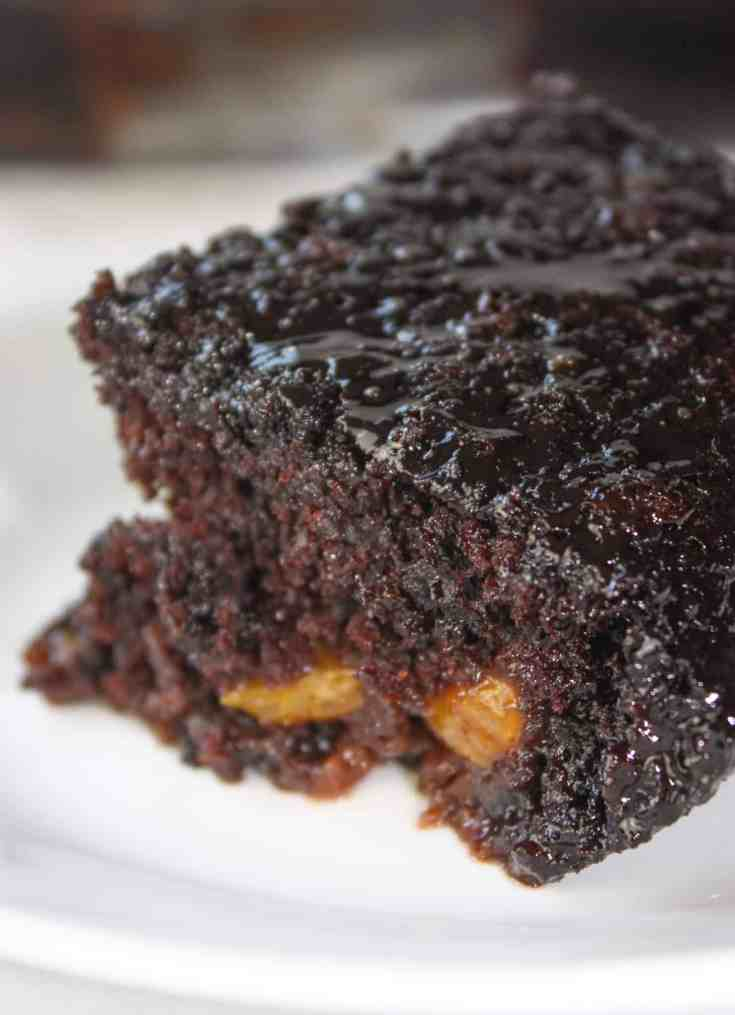 Chocolate Mandarin Cake is a subtle blend of citrus and decadence! This gluten free cake is a great dessert to serve any time of the year.