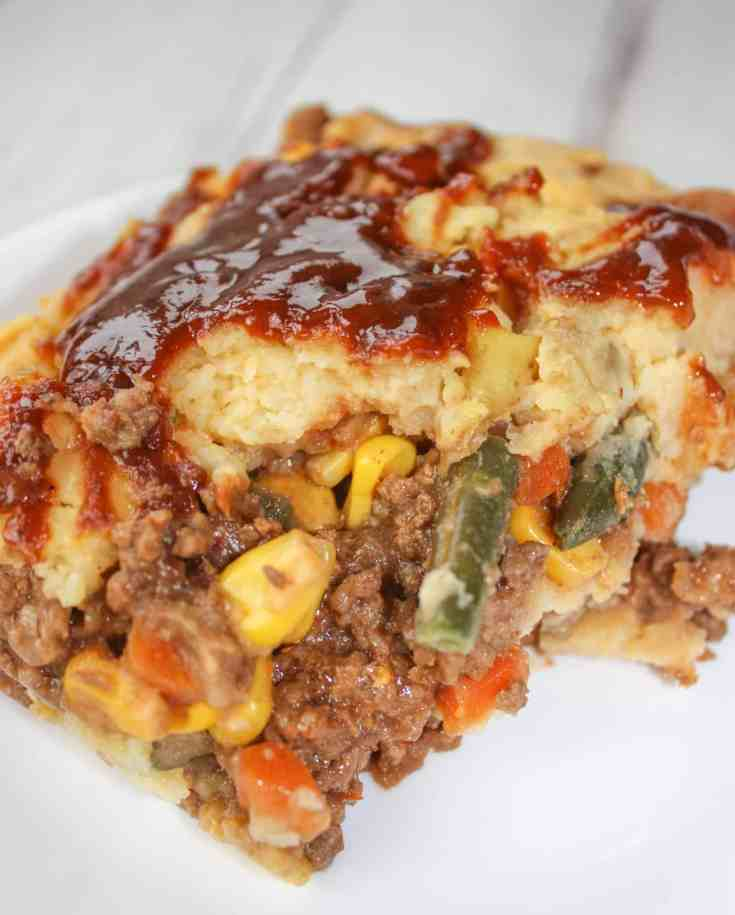 Shepherd's Pie is a favourite comfort meal in our home once the cooler weather arrives.  This gluten free, BBQ variation of this one dish dinner was quickly devoured!