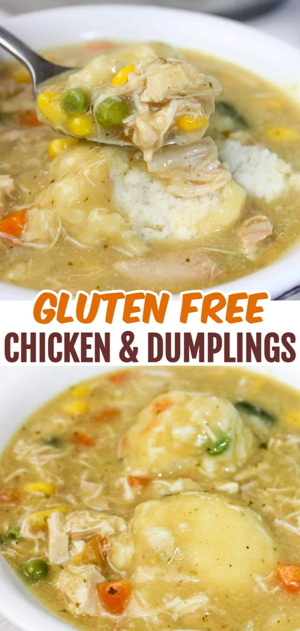 Chicken and Dumplings is a classic comfort food recipe. This gluten free, stove top version does not disappoint!