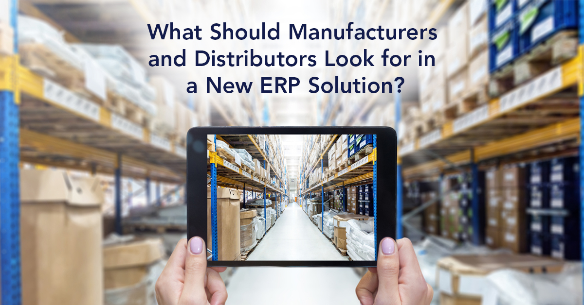 New ERP Solution