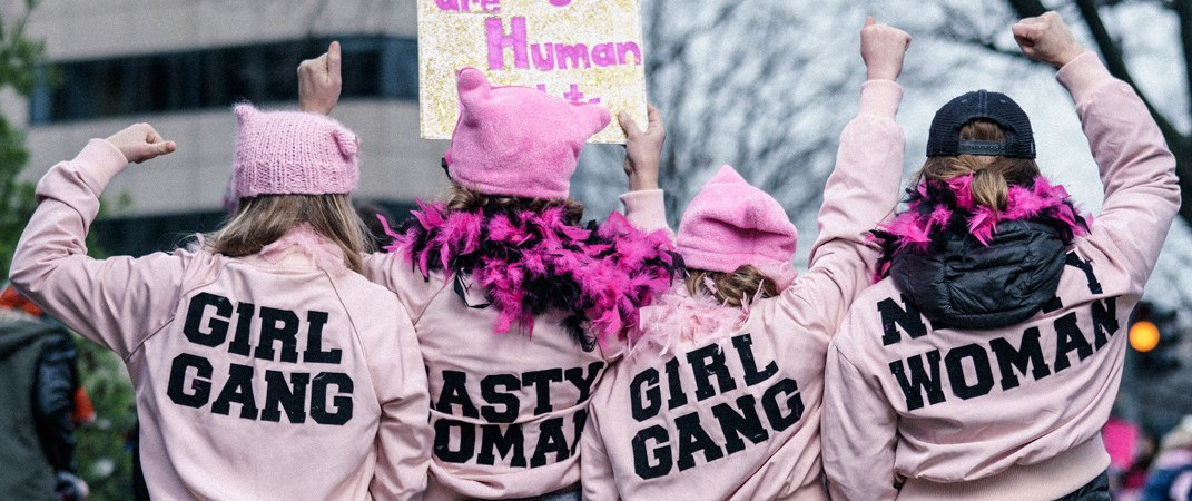 5 Fav Signs from Women's March NYC 2018