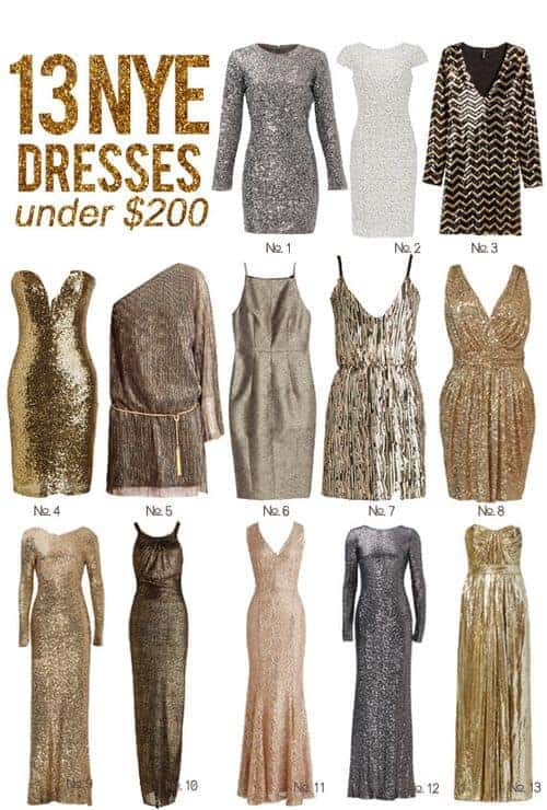 13 New Year's Eve Dresses Under $200