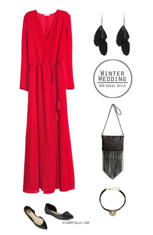 Winter Wedding Guest Style for Under $50