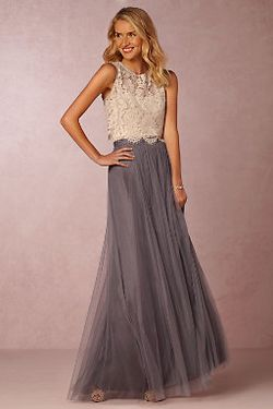 BHLDN Cleo Top and Louise Skirt
