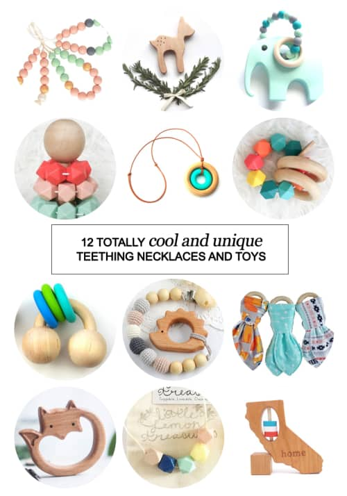 12 Totally Cool and Unique Teething Necklaces and Toys