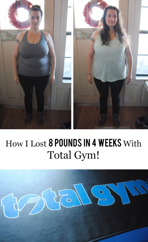How I Lost 8 Pounds In 4 Weeks With Total Gym #newyear #resolution #fitness #weightloss #athomeworkout #health