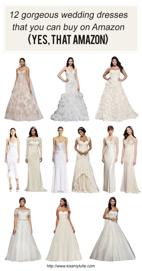 Hereu0027s 12 Gorgeous Wedding Dresses That You Can Buy