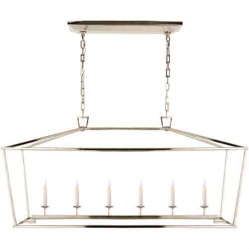 Love the Look? Own it for Less! Visual Comfort Darlana 6 Light Linear Pendant